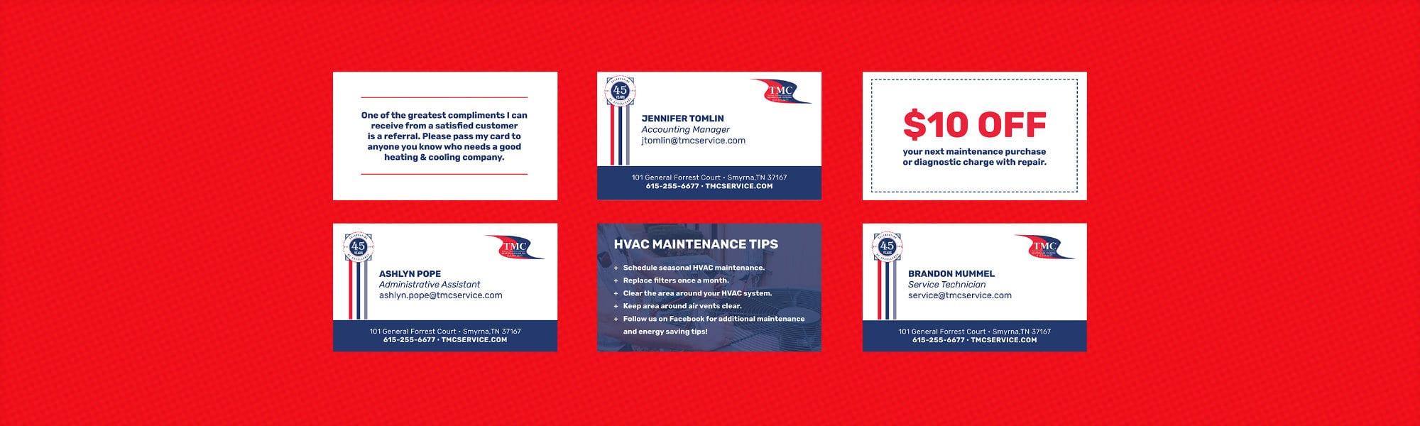 TMC Business Cards